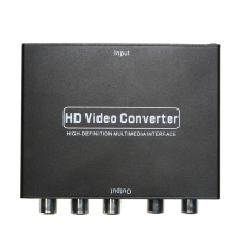 High Quality HDMI to 5 RCA RGB Component YPbPr Video +R/L Audio Adapter Converter HDTV Wholesale(China)