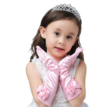 Kids Gloves Gloves Summer Sunscreen Gloves Baby Girls Mittens Professional Dance Party Long Gloves Children's Day Gifts(China)