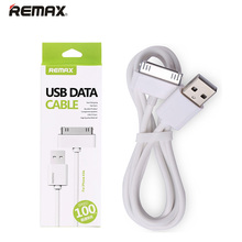 for iPhone 4 4s USB Cable Original Remax Battery Charging Wire Data Sync Line 100cm Length with Retailed Package