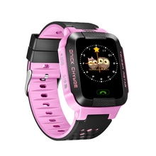 E-EDC Smart Phone Watch Children Kid Wristwatch Y21 GSM GPRS Locator Tracker Anti-Lost Smartwatch Child Guard for iOS Androi(China)