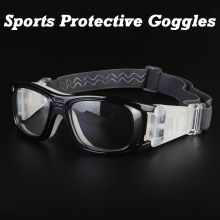FREE SHIPPING Basketball Soccer Football Sports Protective Eyewear Goggles Eye Safety Glasses Sport Dribbling Glasses(China)