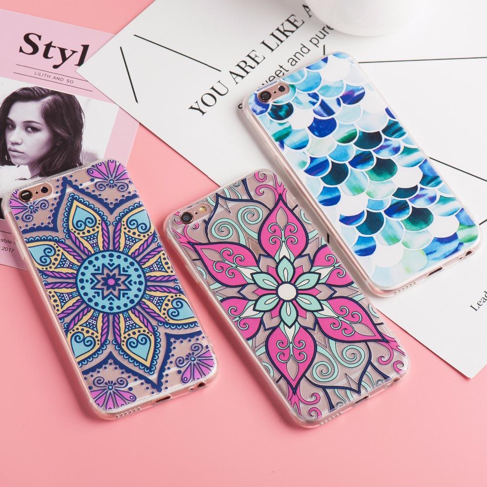 Colorful Mandala Case For iPhone