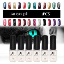 Saviland Cat Eye UV Gel nail Polish with golden Colors Manicure Dark Cat soak off Gel Lacquer nail gelpolish vernis best on All
