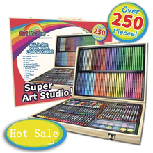 250pcs/set Children's Day Good Gift Art Drawing Set Paint Set Art Supplies School Stationery Supplies