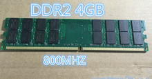 RAM DDR2 4GB Ram 800MHz PC2-6400 Desktop PC DIMM Memory 240 pins For AMD System High Compatible in stock