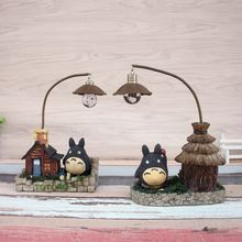 My Neighbor Totoro luminaria LED night light  Miyazaki reading lamp Anime Spirited Away home Decoration table lamp Handicraft