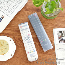 Storage Bags TV Remote Controller Dust Cover Protective Holder Organizer Family Dust Cover Organize Bags