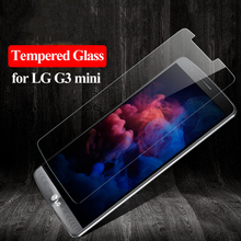 Buy Tempered Glass LG G3 mini D724 Screen Protector 9H 0.3mm 2.5D Explosion Proof Protective Glass LG G3S G3 Beat D722 Film for $1.04 in AliExpress store
