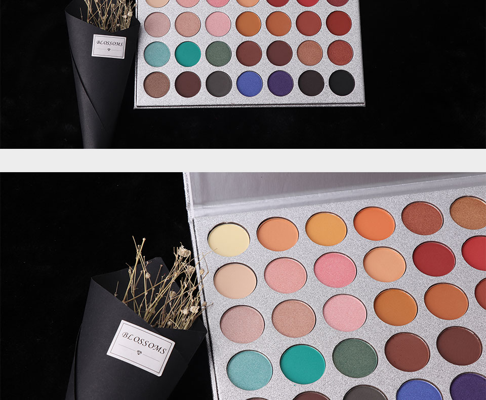 35Color eyeshadow pallete Glitter Makeup Matte Eye shadow
