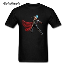 Men Fashion God Of Thunder T Shirt Pop 2017 New Style Short Sleeve Tshirt O Neck Tshirts For Man Streetwear Easygoing XS-XXXL(China)