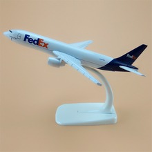 Air FedEx Express B777 Airlines Boeing 777 Airways Plane Model Aircraft 16cm Alloy Metal Airplane Model w Stand Gift(China)