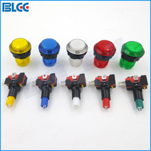 30 mm Illuminated Arcade Button LED Push Buttons with Microswitch Jamma Arcade Part DIY
