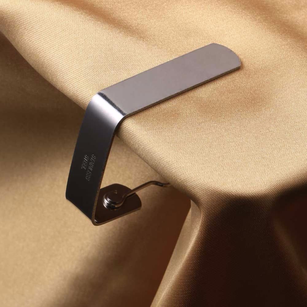 10 Pcs Table Cover Cloth Clamp Stainless steel Tablecloth Clip Clamp Holder For Party Picnics/Restaurant/Wedding 3 Sizes 2016(China (Mainland))