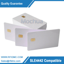 Contact SLE4442 Chip ISO7816 PVC Smart IC Card -10pcs(China)