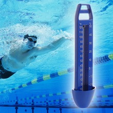 Swimming Pool Spa Hot Tub Bath Temperature Thermometer Blue -30~50 Degree(China)