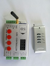 led RF pixel controller;SD card;support dmx console(to select the programmes);APA102/WS2812B/WS2811