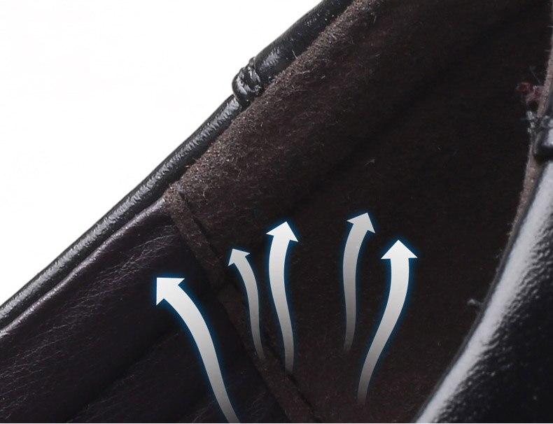 احذية جلدية رجالي لينة عالية الجودة  الحجم 39-48 5