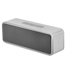 NBY-1040 Wireless Bluetooth Speaker Portable Mini Square Box Speaker TF Card USB AUX for IPhone and Android Phones PC