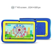 "YUNTAB 7""Q88R iWawa kids tablet PC,parental control software and iWawa 3D game HD video support kids tablet with chic stand case(China)"