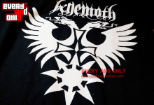 Behemoth band eagle 100% short-sleeve o-neck cotton t-shirt  tee t