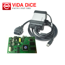 2017 Latest Version 2014D Vida Dice for Volvo Professional Universal Diagnostic Tool for Volvo With Green Board Free Shipping(China)