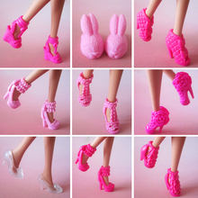 20 pair / lot New orignal Shoes for barbie doll high quality Doll accessories Free shipping(China)