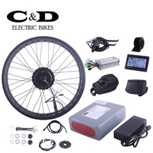 Fat Bike conversion kit 48V350W motor MXUS brand ebike kit for Electric bike 48V10.4AH battery LED LCD display optional