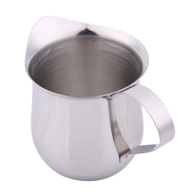Newest New Stainless Steel Coffee Shop Small Milk Cream Waist Shape Cup Jug E#CH