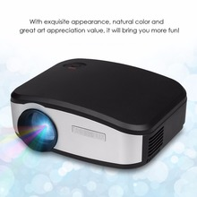 CHEERLUX C6 Mini LED&LCD Projector 800x480 Pixels 1200 Lumens Home Theater HDMI/USB/VGA/AV/TV Proyector For Video,Games