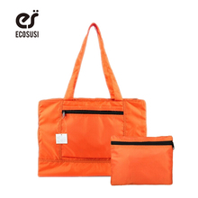ECOSUSI New Men and Women Travel Tote Water Proof Unisex Travel Handbags Women Luggage Travel Bag Folding Bags 4 Colors(China)