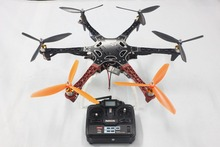 F05114-AG DIY Drone F550 Hexacopter Kit 1045 3-Props  Hexa-Rotor QuadCopter UFO & Tall Landing Gear No Battery Charger
