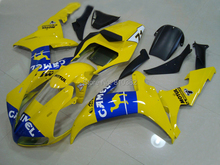 2015 Motorcycle Fairing kit for YZFR1 02 03 YZF R1 2002 2003 yzfr1 YZF1000 Popular  yellow blue ABS Fairings set+7gifts YM39