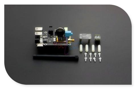 Suptronics X200 Multifunction Expansion Shield Board, 6~20V support VGA/RTC/GPIO/IR/WiFi etc. for Raspberry Pi Model B+ and Pi 2<br>