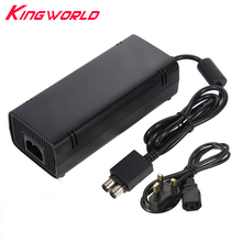 High quality UK Plug AC Adapter Charger Power Supply AC 110-240V for Microsoft Xbox 360 S Slim