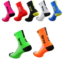 2017 High quality Professional brand sport socks Breathable Road Bicycle Socks Outdoor Sports Racing Cycling Sock Footwear S10