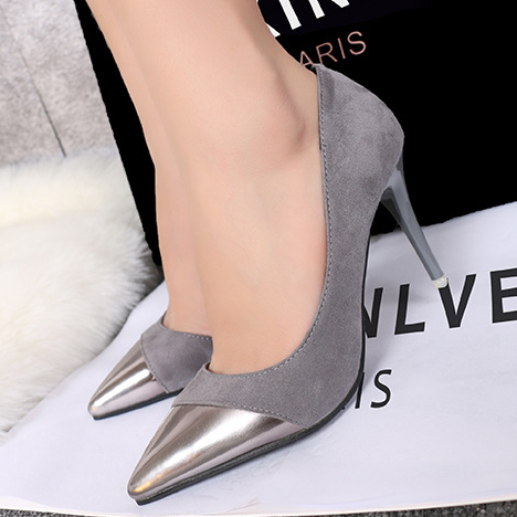 Womens Fashion Sexy Office High Heeled Pointed Shoes Elegant Red Stiletto Pumps Patent Leather Suede Pointed Toe Zapatos Mujer<br><br>Aliexpress