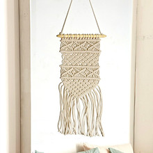 Macrame Wall Hanging Woven Wall Tapestry Boho Wall Hanging Wall Tapestry Macrame Boho Home Decor Textile Hanging