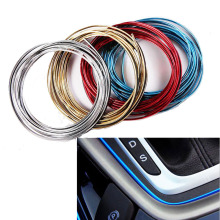 Buy 5M Car Styling Stickers Cars Interior Trim Thread Brand Decoration Strip Auto Accessories Peugeot 206 307 308 for $2.69 in AliExpress store