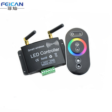 DC12-24V 4A/CH 3Channel Wifi RGB LED Controller+RF Touch Remote Control By Android/IOS APP Control For 5050 3528 RGB LED Strip