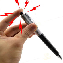 Very Funny Electric Shock Pen Toy Utility Gadget Gag Joke Funny Prank Trick Novelty Magic Joke Ball Pen(China)