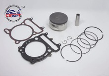 80MM 18MM Piston Ring Gasket Kit VOG LINHAI YP VOG 400 400CC Tank Touring ATV Buggy Scooter Parts(China)