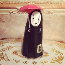 Hayao Miyazaki animation with a man without face spirited away without a face saving craft gift ornaments Jun