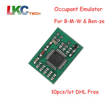 10pcs/lot DHL Free Seat Occupant Sensor Emulator for B-M-W and Mer--ced-es E Series W series Repair RSR Light Reset Tool