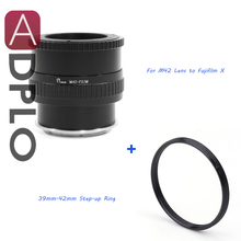 Buy Pixco Adjustable Macro infinity Lens Adapter M39 Lens Fujifilm X Mount Camera X-A3 X-Pro2 X-E2S X-T10 X-T1IR X-A2 X-T1 for $29.83 in AliExpress store