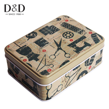 Tin Metal Box Case Wedding Seal Jewelry Pill Cases Home Storage Organizer for Jewelry Kids Toy Gift Home Supplies