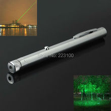 JSHFEI All Star 532nm 200MW Visible laser Diode Green Laser Pointer Pen 2*AAA Aviation Aluminum For Teaching wholesale lazer(China)