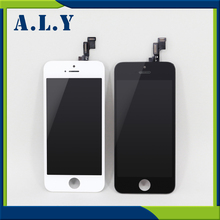 10PCS/LOT AAA Quality No Dead Pixel Competitive Price For iPhone 5S LCD Free Shipping DHL(China)