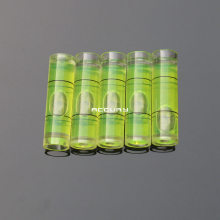 100pcs 9.5*34mm Cylindrical Bubble level spirit level vial Acrylic levels for Frame or Hanging wall TV