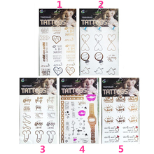 1PCS Hen Party Bride To Be Decor Temporary Tattoo Sticker Bachelorette Party Bridesmaid Sticker Wedding Props Party Sticker