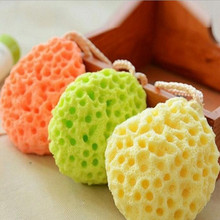 3Color Large Facial Cleansing Sponge Face Wash Exfoliating Makeup Remover Body Bath Shower Cosmetic Puff Cotton Soft Beauty Tool(China)
